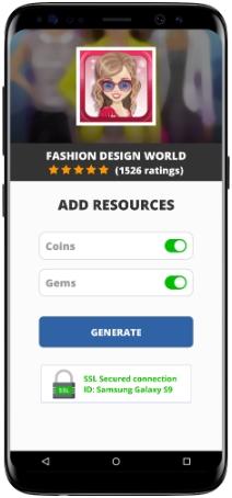 Fashion Design World Mod Apk Unlimited Coins Gems