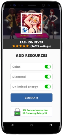 Fashion Fever Mod Apk Unlimited Coins Diamond Energy