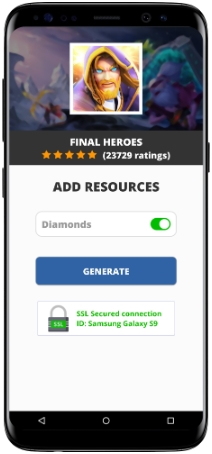 Final Heroes MOD APK Screenshot