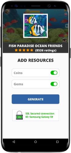 Fish Paradise Ocean Friends MOD APK Screenshot