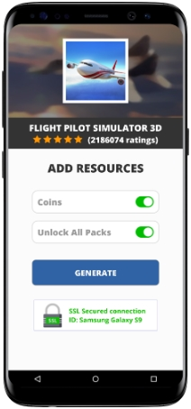 Flight Pilot Simulator 3D MOD APK Screenshot