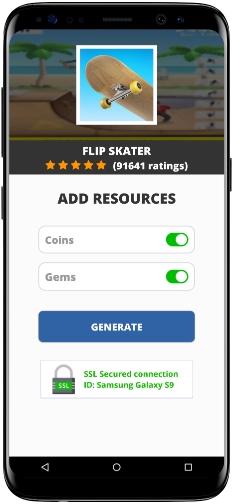 Flip Skater MOD APK Screenshot