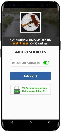 Fly Fishing Simulator HD MOD APK Screenshot