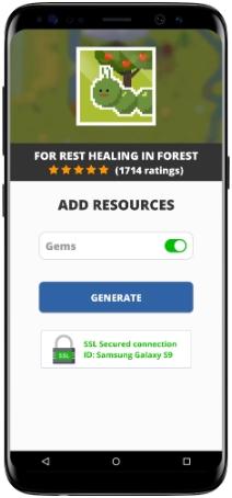 For rest healing in forest MOD APK Screenshot