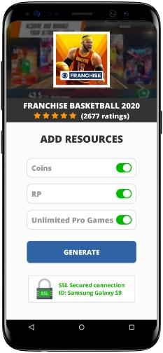 Franchise Basketball 2020 MOD APK Screenshot