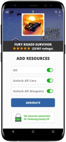 Fury Roads Survivor MOD APK Screenshot