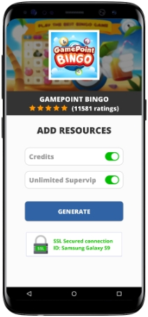 GamePoint Bingo MOD APK Screenshot