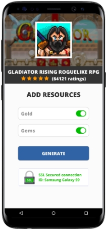 Gladiator Rising Roguelike RPG MOD APK Screenshot