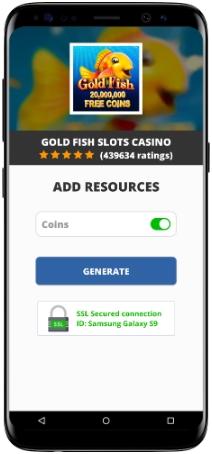 Gold Fish Slots Casino MOD APK Screenshot
