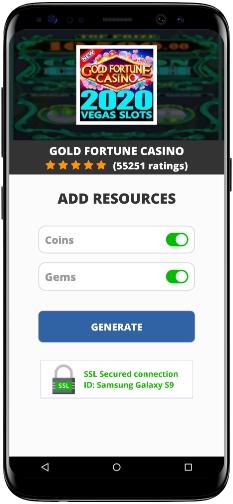 Gold Fortune Casino MOD APK Screenshot