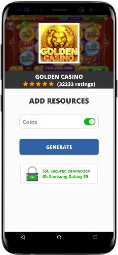 Golden Casino MOD APK Screenshot