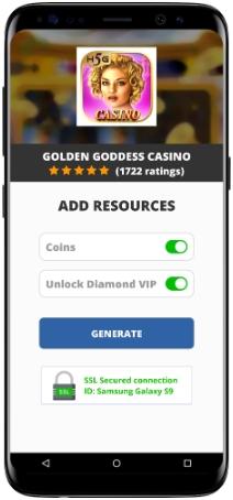 Golden Goddess Casino MOD APK Screenshot