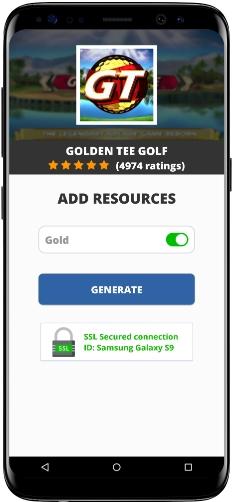 Golden Tee Golf MOD APK Screenshot