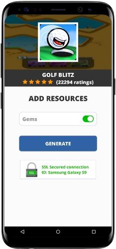 Golf Blitz MOD APK Screenshot