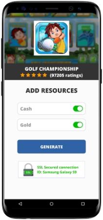 Golf Championship MOD APK Screenshot