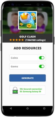 Golf Clash MOD APK Screenshot