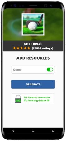 Golf Rival MOD APK Screenshot