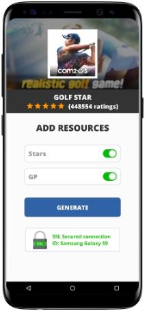 Golf Star MOD APK Screenshot