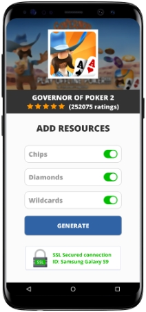 Governor of Poker 2 MOD APK Screenshot