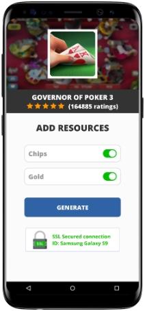 Governor of Poker 3 MOD APK Screenshot