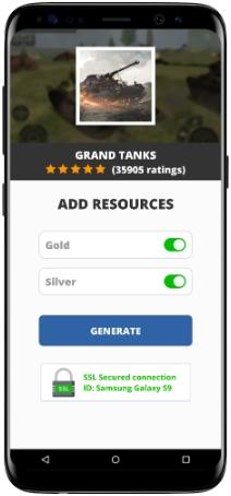 Grand Tanks MOD APK Screenshot