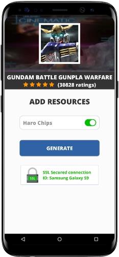 Gundam Battle Gunpla Warfare MOD APK Screenshot
