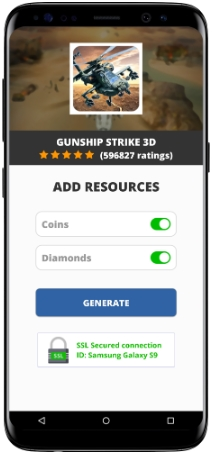 Gunship Strike 3D MOD APK Screenshot