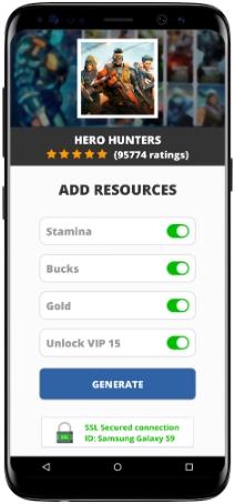 Hero Hunters MOD APK Screenshot