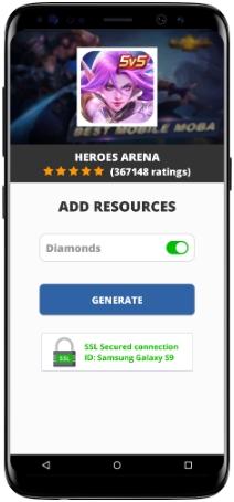 Heroes Arena MOD APK Screenshot