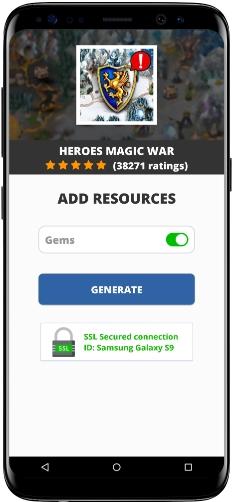 Heroes Magic War MOD APK Screenshot