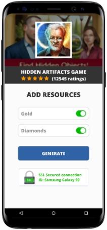 Hidden Artifacts Game MOD APK Screenshot