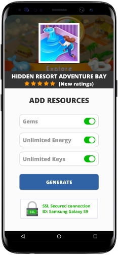 Hidden Resort Adventure Bay MOD APK Screenshot