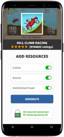 Hill Climb Racing MOD APK Screenshot