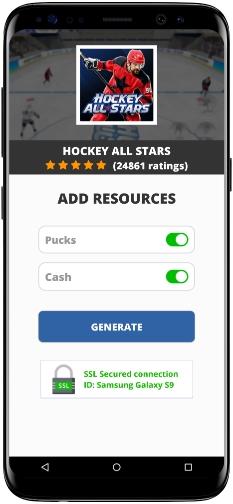 Hockey All Stars MOD APK Screenshot
