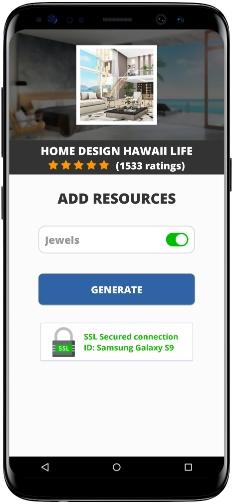 Home Design Hawaii Life MOD APK Screenshot