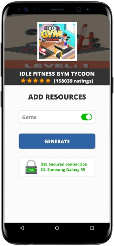 Idle Fitness Gym Tycoon MOD APK Screenshot