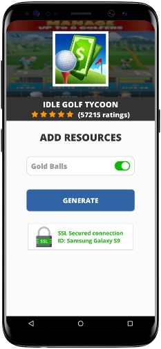 Idle Golf Tycoon MOD APK Screenshot