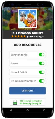 Idle Kingdom Builder MOD APK Screenshot