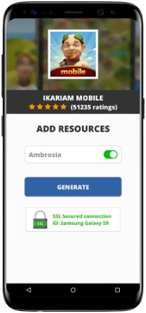 Ikariam Mobile MOD APK Screenshot