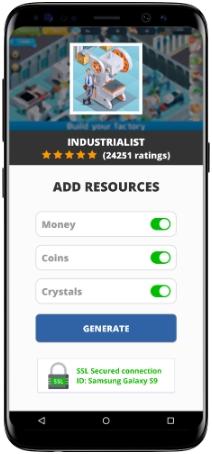 Industrialist MOD APK Screenshot