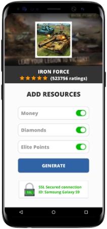 Iron Force MOD APK Screenshot