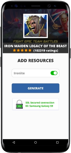 Iron Maiden Legacy of the Beast MOD APK Screenshot