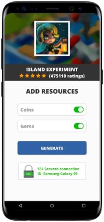 Island Experiment MOD APK Screenshot