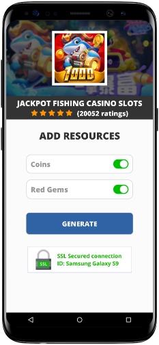 Jackpot Fishing Casino Slots MOD APK Screenshot