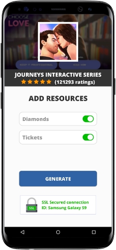 Journeys Interactive Series MOD APK Screenshot