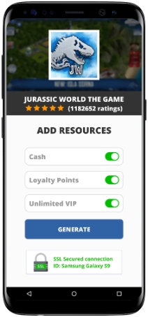 Jurassic World The Game Mod Apk Unlimited Cash Loyalty Points Vip