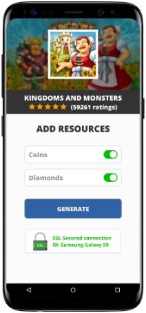 Kingdoms and Monsters MOD APK Screenshot
