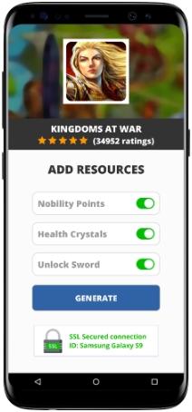 Kingdoms at War MOD APK Screenshot