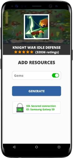 Knight War Idle Defense MOD APK Screenshot