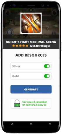 Knights Fight Medieval Arena MOD APK Screenshot